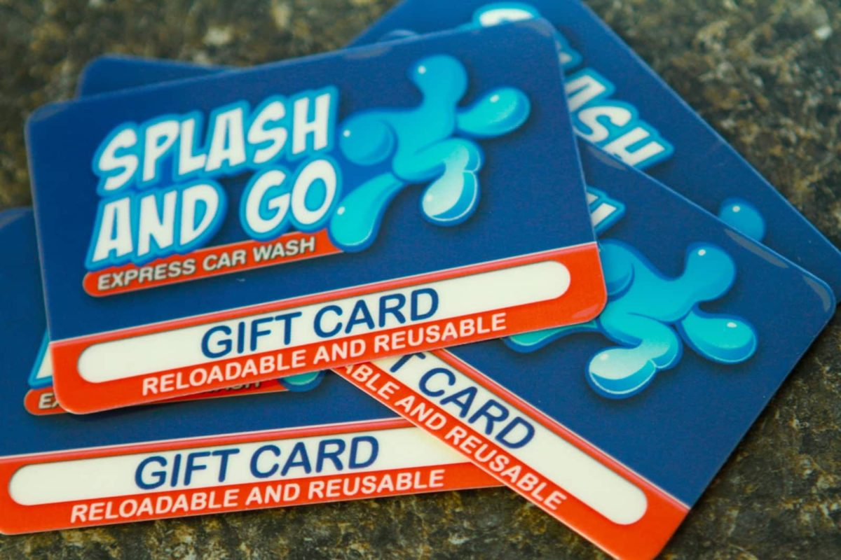 gift cards for splash and go express car wash